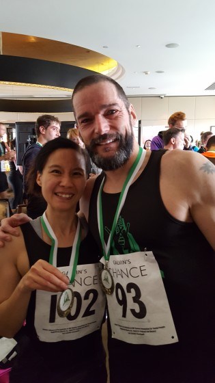 Completed the Mayfair Park and Tower Race and caught up with Fred Sirieix at the top who was this years winner!