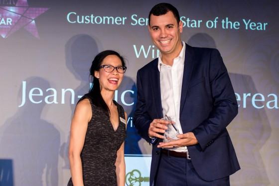 Customer Service Star of the Year 2016 Jean-Luc Bouchereau